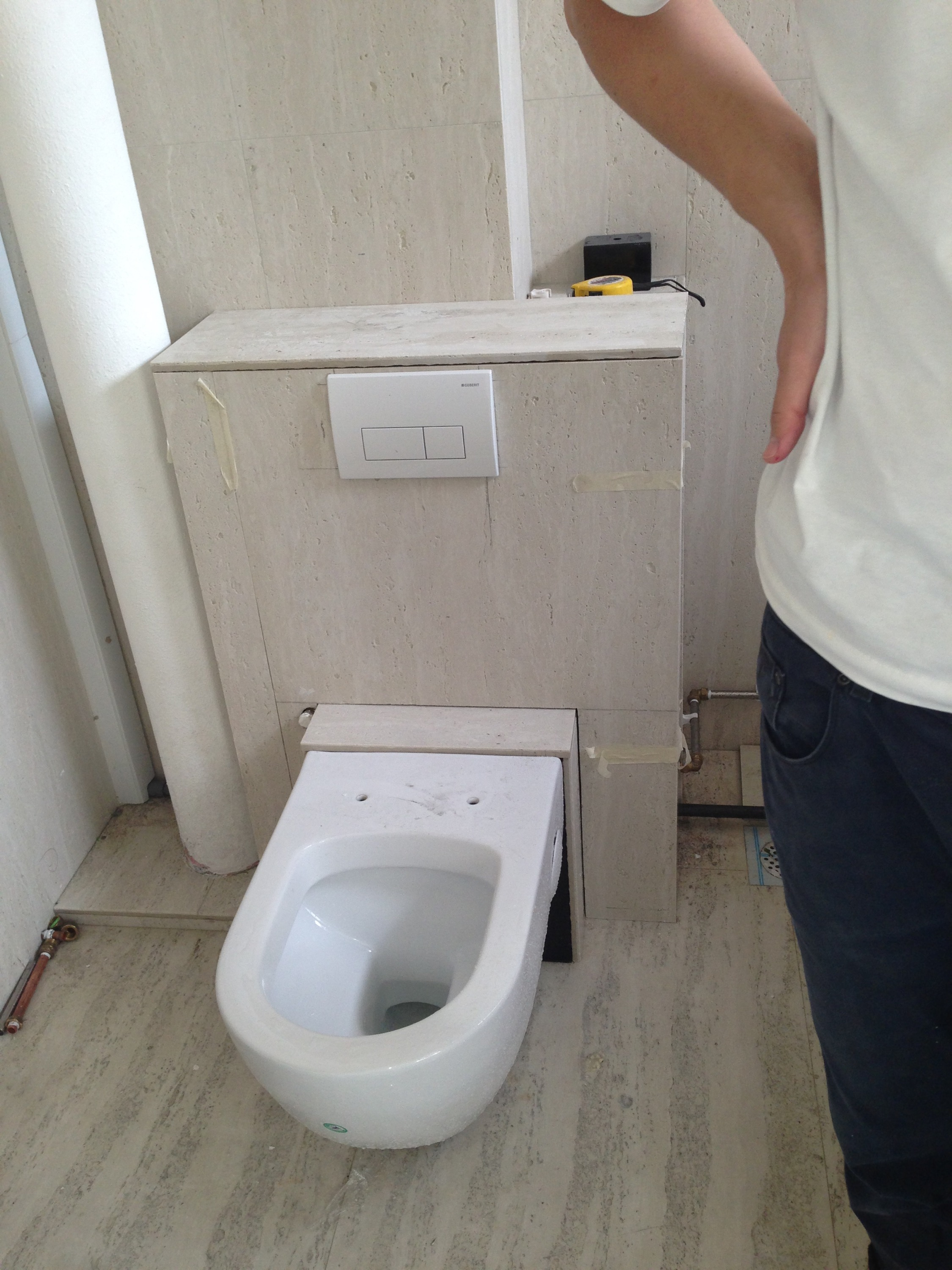 Reliable Plumber Diy Wall Mounted Toilet Bowl